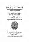 Титульный лист 'Рассуждения о методе'