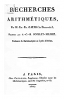 Title-page of the publication the year 1807