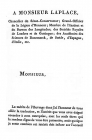 Letter from translator to Laplace